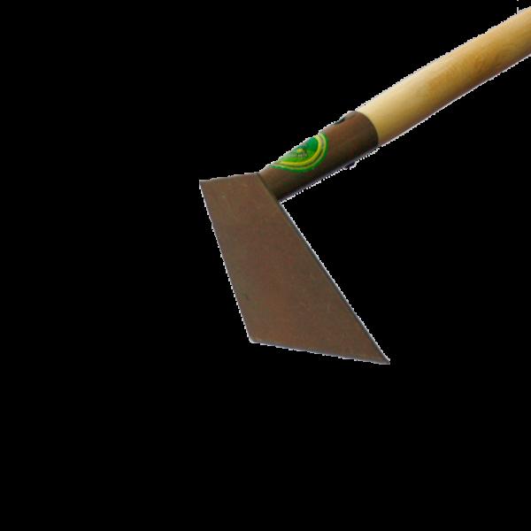 Мотыга с деревянным черенком